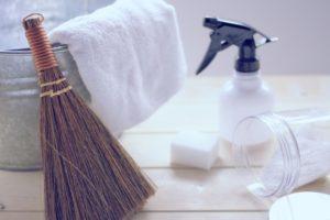 掃除道具 ロフト部屋