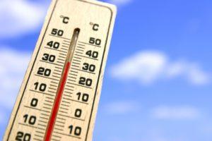 高温 暑い 温度計